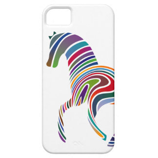 Horse of rainbow iPhone 5 cover