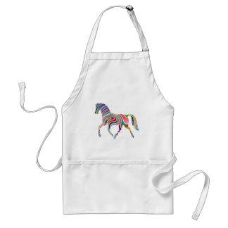 Horse of rainbow standard apron