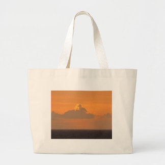 Horse on Fire Large Tote Bag
