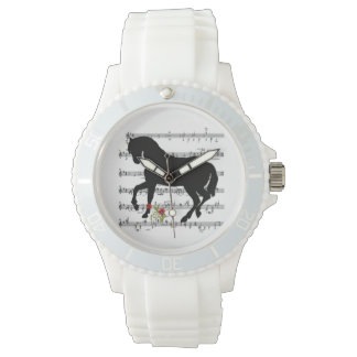 """Horse on Music Sheet"" Watch"