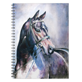 Horse Painting Notebook