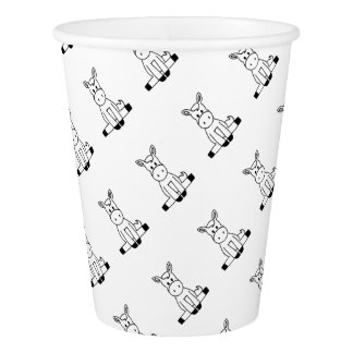 Horse Paper Cup