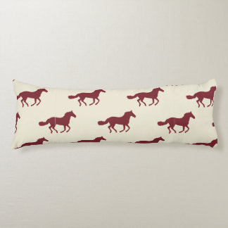 Horse Pattern Body Pillow