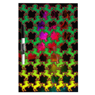 Horse Pattern Dry Erase Board