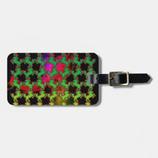 Horse Pattern Luggage Tag