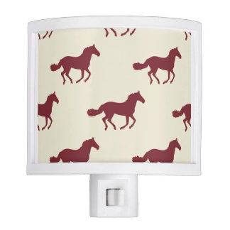 Horse Pattern Nite Lights