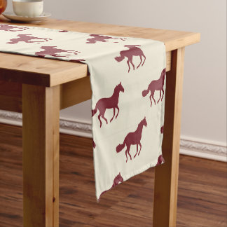 Horse Pattern Short Table Runner