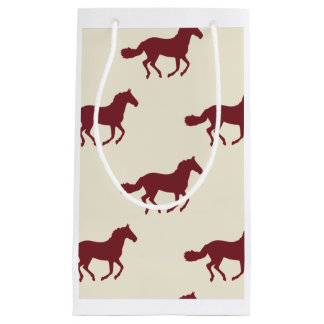 Horse Pattern Small Gift Bag