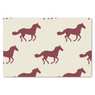 Horse Pattern Tissue Paper
