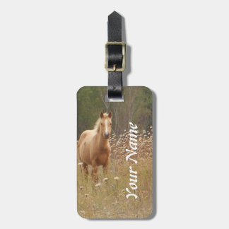 Horse Photography Luggage Tag