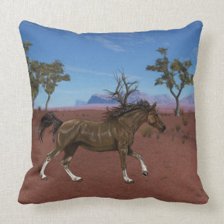Horse pilow throw pillow