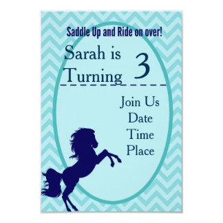 Horse/Pony Party Card