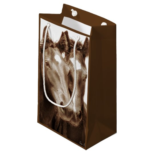 Horse Portrait III Small Gift Bag