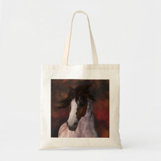 Horse Portrait Tote Bag - Great For A Bag For Life