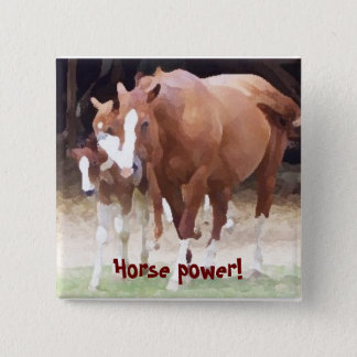 Horse power! Button