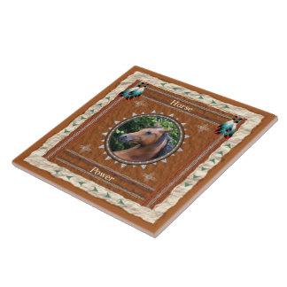 Horse  -Power- Ceramic Tile