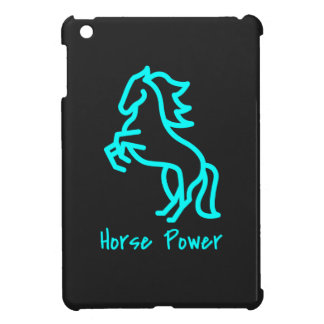Horse Power in Blue Cover For The iPad Mini
