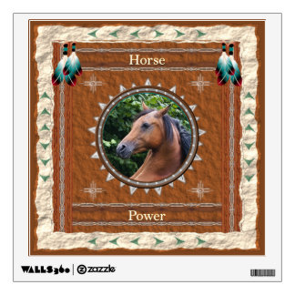 Horse  -Power- Wall Decal