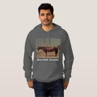 Horse print hoodie