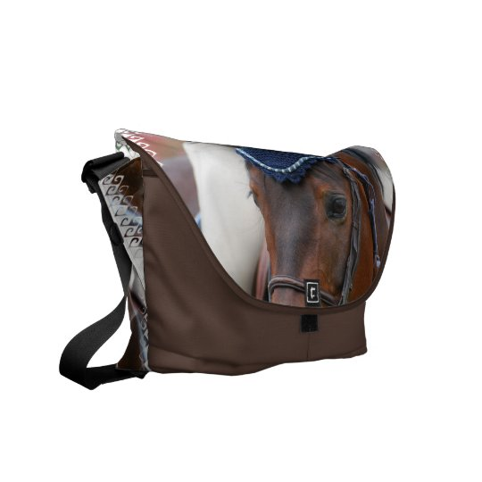 Horse Profile Messenger Bag