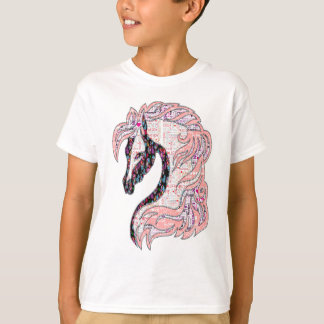 horse quilt style fasion T-Shirt