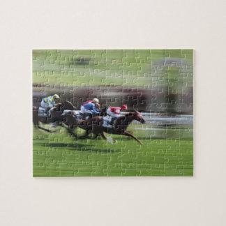 horse race jigsaw puzzle