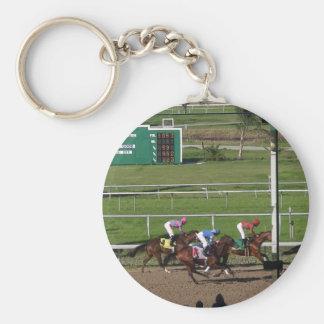 Horse Race Keychain