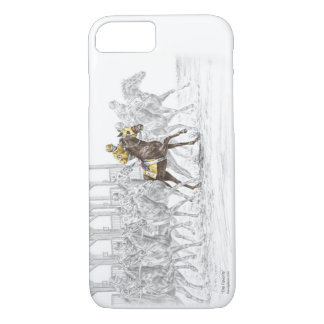 Horse Race Starting Gate iPhone 7 Case
