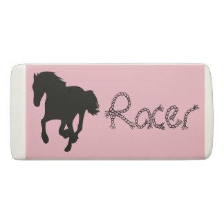 Horse Racer Pink Eraser
