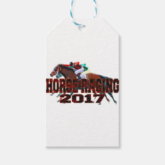 horse racing 2017 pack of gift tags