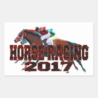 horse racing 2017 sticker