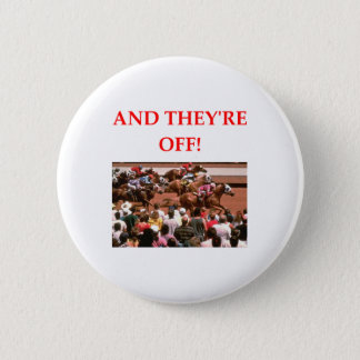 horse racing 2 inch round button