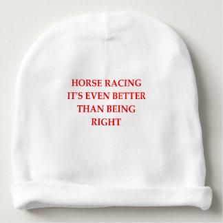 horse racing baby beanie