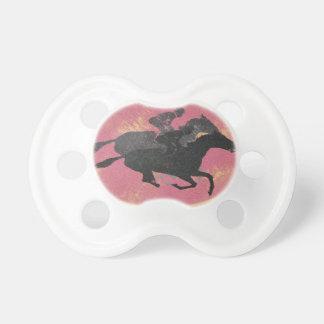 Horse Racing Baby Pacifier