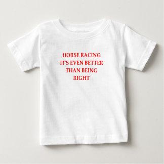 horse racing baby T-Shirt