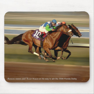 Horse Racing - Bar-bar-o Mouse Pad