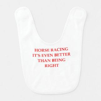 horse racing bib