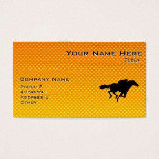 Horse Racing Business Card