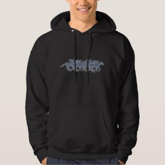 Horse racing hoodie