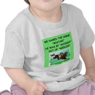 HORSE racing joke T-shirts
