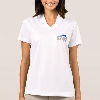 Horse Racing Nation Ladies' Half-Zip Polo Shirt