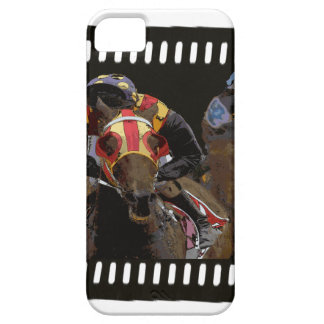 Horse Racing on Film Strip Case For The iPhone 5