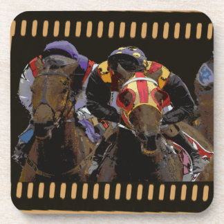Horse Racing on Film Strip Coaster