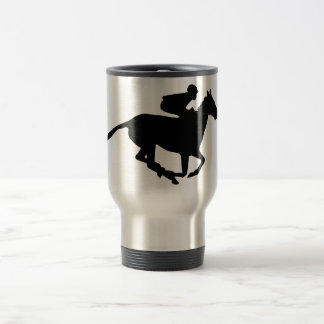 Horse Racing Pictogram Mug
