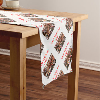 horse racing short table runner
