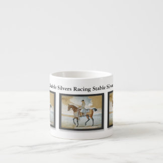 Horse Racing Sire Godolphin Arabian Customizable Espresso Cup