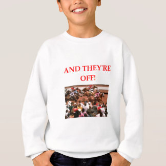horse racing sweatshirt