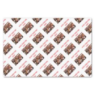 horse racing tissue paper