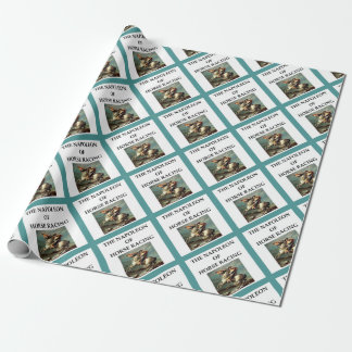 horse racing wrapping paper