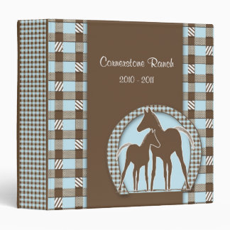 Horse Ranch Memory Photo Album Binder